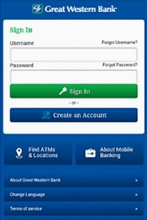 Great Western Bank Mobile - screenshot thumbnail