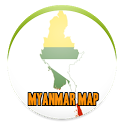 Simple Myanmar Map Offline icon