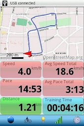 Run.GPS Lite for Android1.6