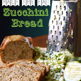 Half the Fat Zucchini Bread