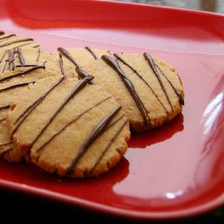 Peanut Butter Shortbread Cut-Outs