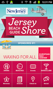 Jersey Shore Beach Guide - screenshot thumbnail