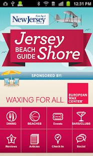 Jersey Shore Beach Guide - screenshot thumbnail