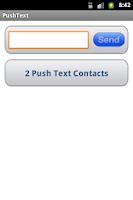 Screenshot of Push Text