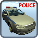 Extreme Police Car Driver 3D icon