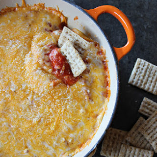 Easy Layered Pizza Dip