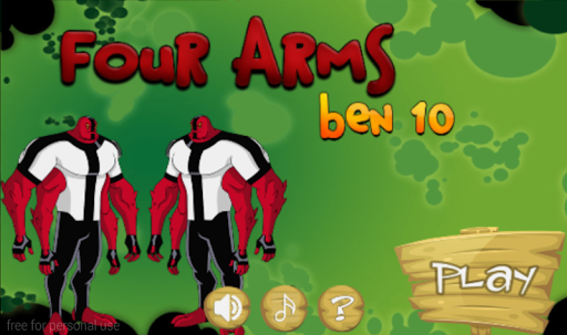 Ben10 Four Arms