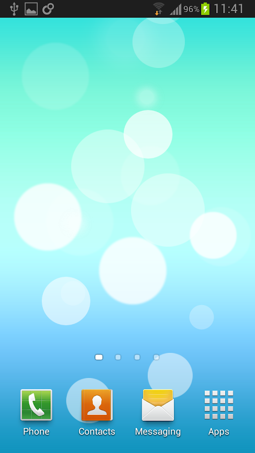 iOS 7 Live Wallpaper - screenshot