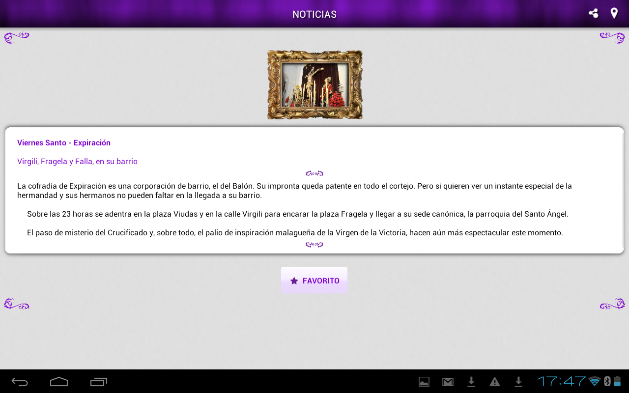 Semana Santa de Cádiz- screenshot