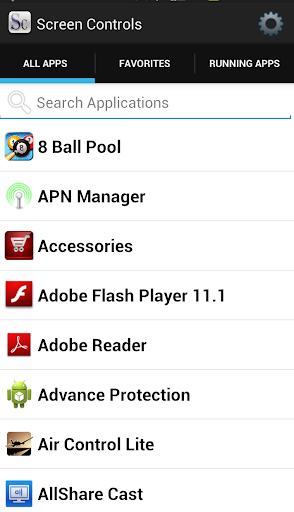 Screen Controls Beta