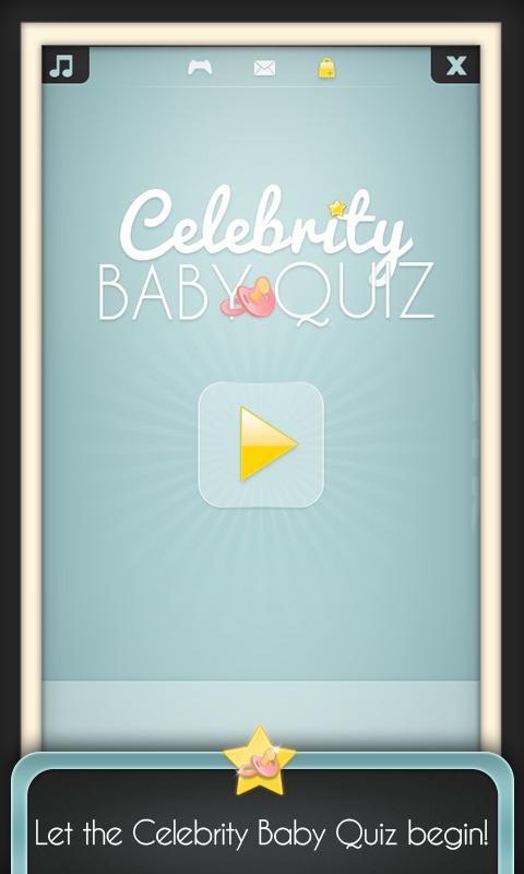 Celebrity Baby Quiz - screenshot