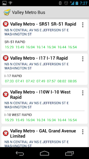 Valley Metro Bus Schedule
