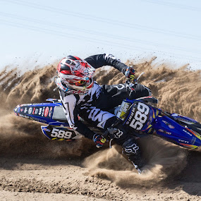 Blown up! by Zachary Zygowicz - Sports & Fitness Motorsports ( sand, motocross, racing, dirtbikes, blow up )