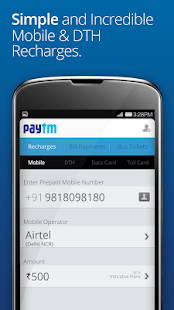 Mobile Recharge, DTH and Bills - screenshot thumbnail