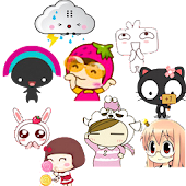 Girly Emoticons 1.0