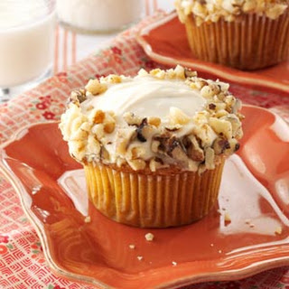Maple Carrot Cupcakes.