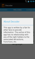 Screenshot of Decoder for the Park
