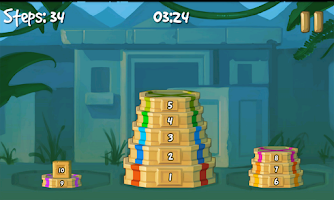 Screenshot of Tower of Hanoi Deluxe