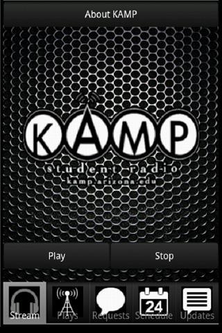 KAMP Student Radio Free App