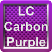 LC Carbon Purple Theme for Nova/Apex