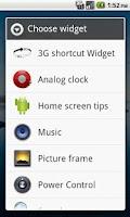 Screenshot of 3G 2G Switch ON OFF Widget