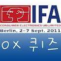 IFA 2011 OX 퀴즈 logo