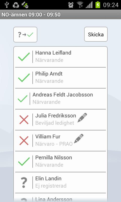 Dexter App- screenshot