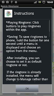 Remix Ringtone - screenshot thumbnail
