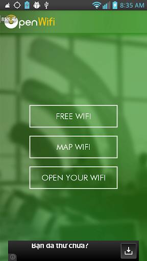 Open WiFi_フリー