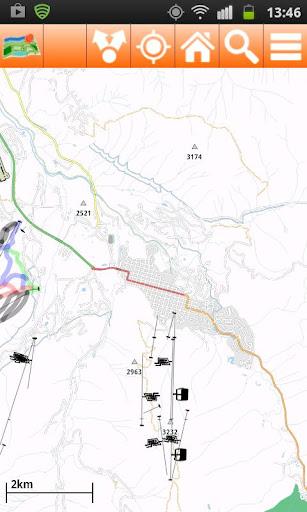 Aspen Offline mappa Map