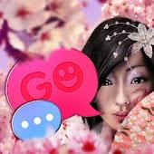 Japan Girl GO SMS Pro