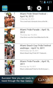 Miami Beach Gay Pride - screenshot thumbnail