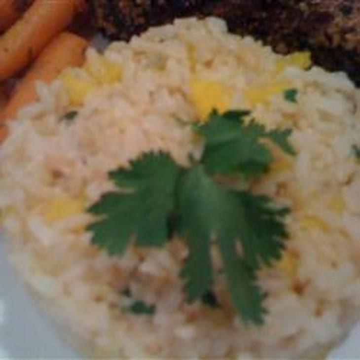 Mango-Lime Rice Recipe