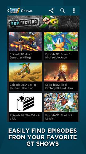 gametrailers android