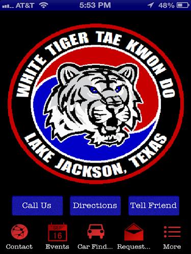 white tiger taekwondo - HD1024×1024