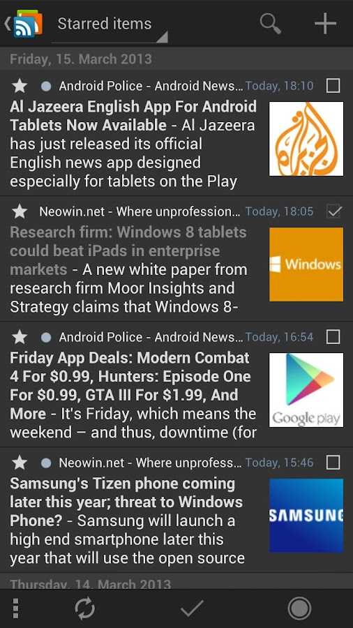 gReader Pro | Feedly | News - screenshot