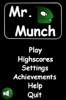 Screenshot of Mr. Munch (Snake game)