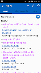 Download English Vietnamese Dictionary TFlat For PC Windows and Mac apk screenshot 2