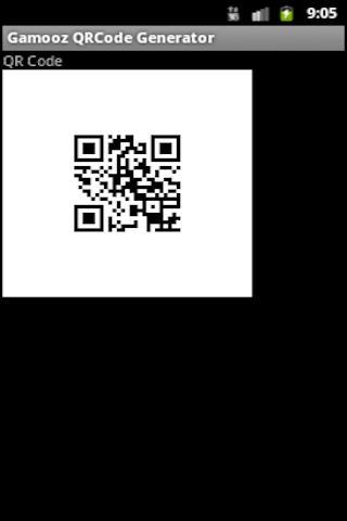 GAMOOZ QR Code - screenshot