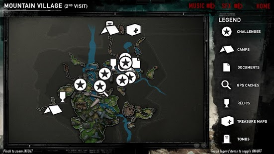 Official Tomb Raider™ Map App - screenshot thumbnail