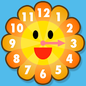Sunflower clock for Infant
