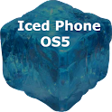 ICED PHONE OS5 THEME.