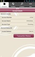 Screenshot of FNBA Mobile Banking