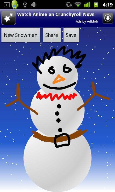 Make a Snowman- screenshot