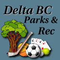 Delta BC Parks and Rec logo