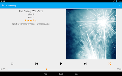 GoneMAD Music Player (Trial) Screenshot