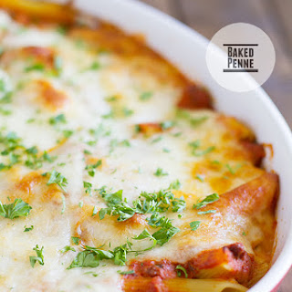 Baked Penne.