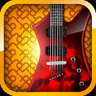 Pesada guitarra de metal icon