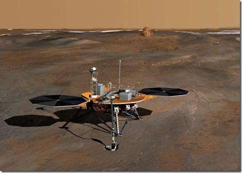 SCIETEC: Phoenix spacecraft landed on May 25, 2008 in Mars ...