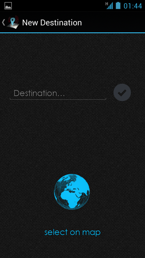Travel Alarm (Pro) - screenshot